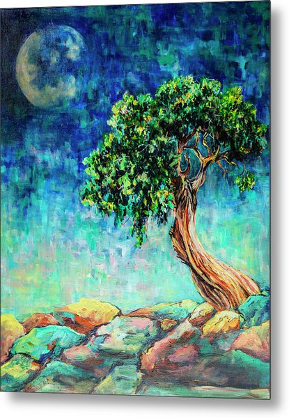 Reaching For The Moon #1 Metal Print