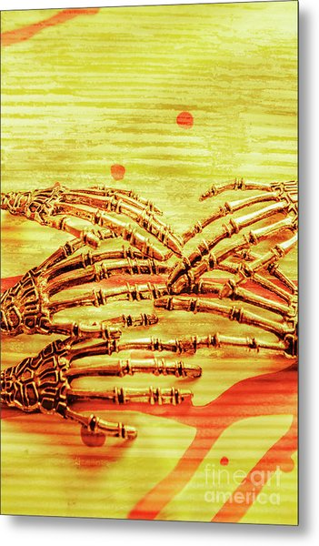 Reaching The Technological Singularity  Metal Print
