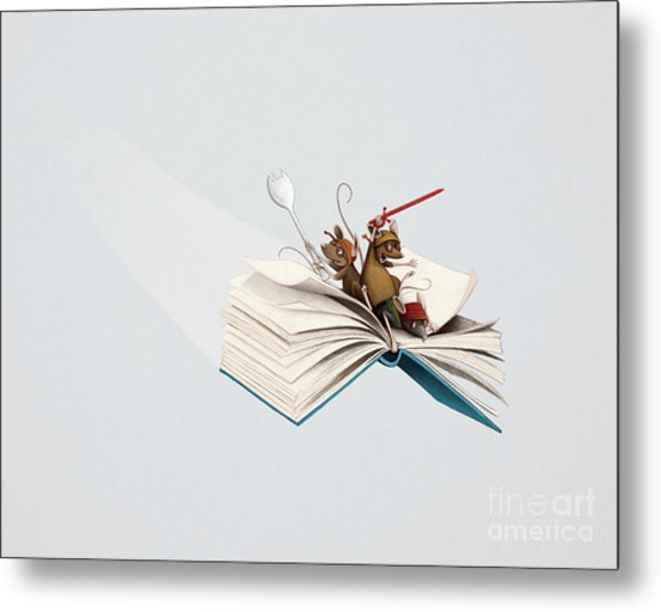 Reading Is An Adventure Metal Print