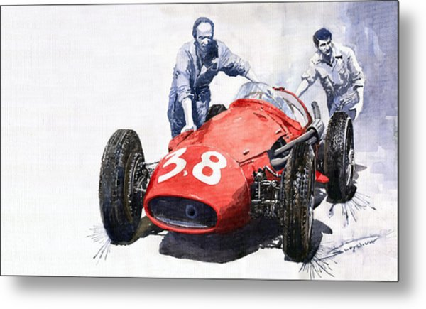 Ready For Racing Maserati 250 F Metal Print