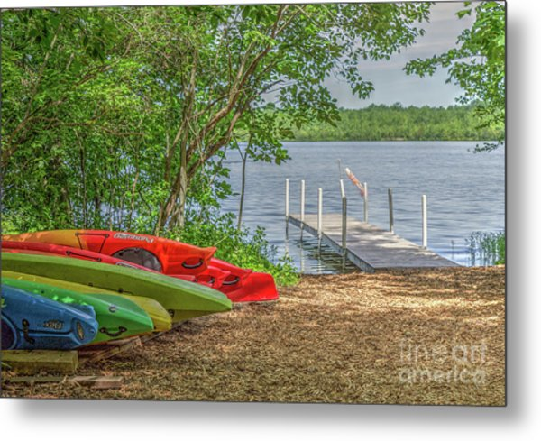 Ready For Summer Metal Print