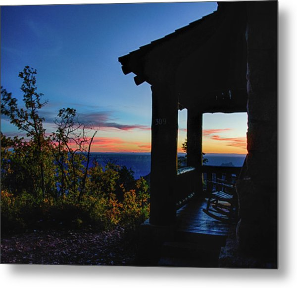 Ready For Sunset Metal Print