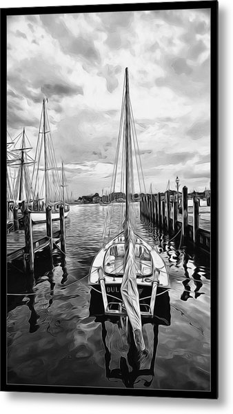 Ready To Set Sail Metal Print