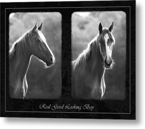 Real Good Looking Boy Metal Print