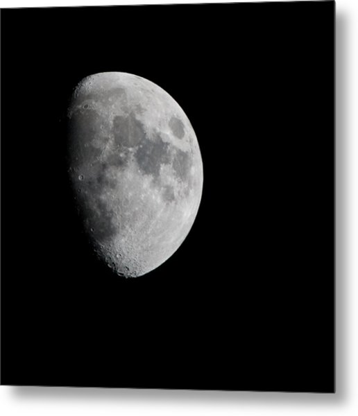 Real Moon Metal Print by Tom Dowd