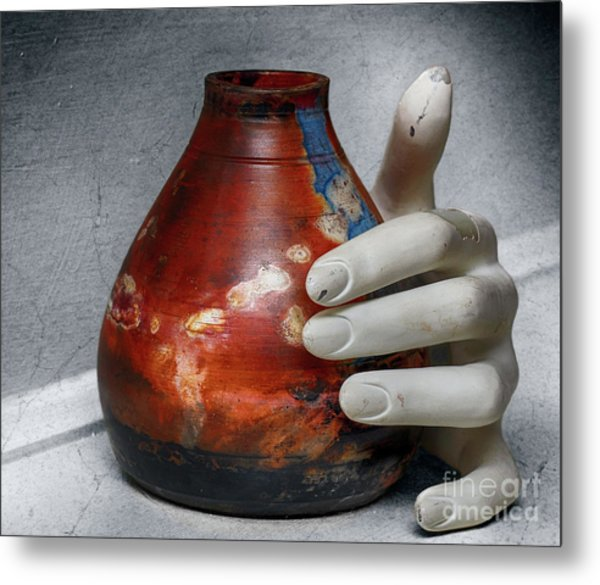 Reason And Perspective  Metal Print by Steven Digman