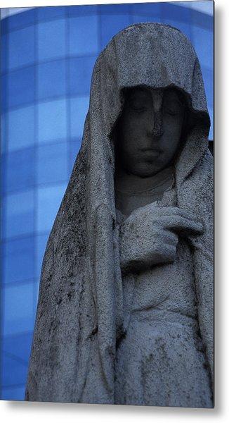 Recoleta Statue Metal Print by Marcus Best