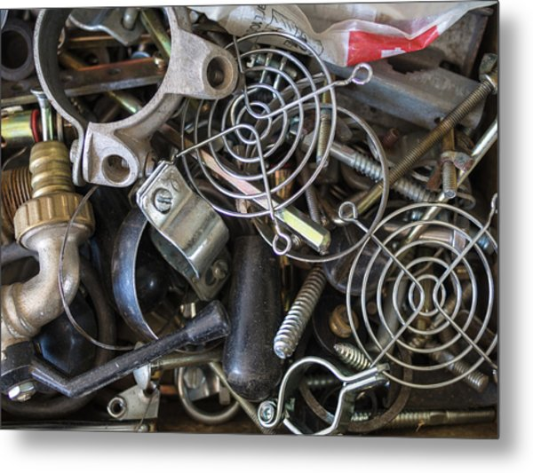 Recycle Metal Metal Print