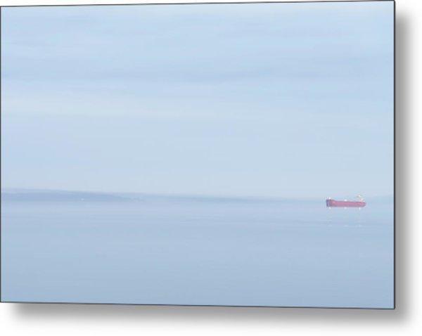 Red Boat 2 Metal Print