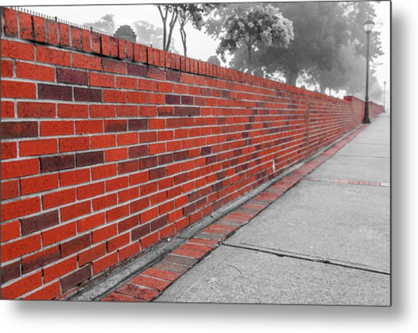 Metal Print featuring the photograph Red Brick by Doug Camara