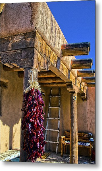 Red Chillies At New Years Metal Print