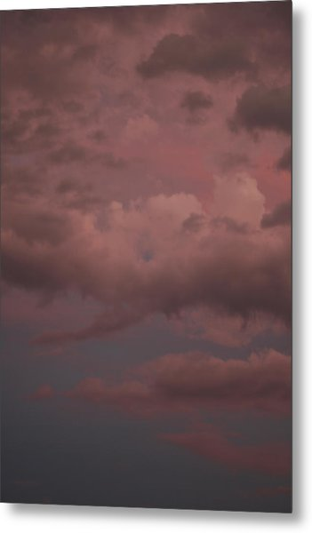 Metal Print featuring the photograph Red Clouds Iv by Dylan Punke
