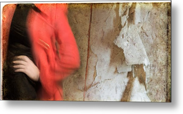 Red Coat #4820 Metal Print