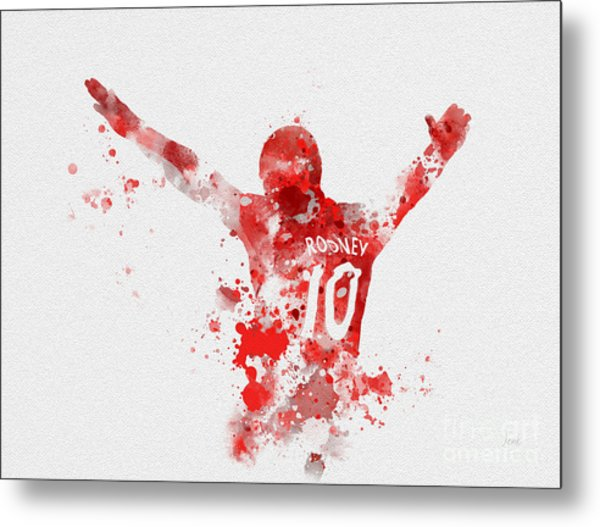 Red Devil Metal Print