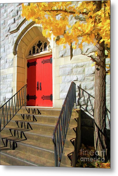 Messiah Lutheran Church Metal Print