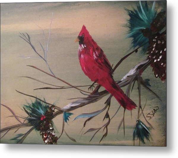 Red Drifter Metal Print