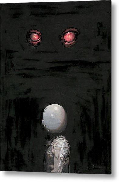 Red Eyes Metal Print