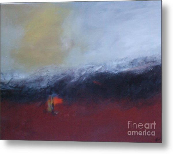 Red Flag Metal Print