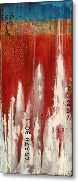 Red Holiday Metal Print