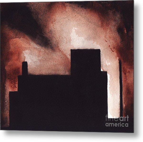 Red Hook Metal Print by Ron Erickson