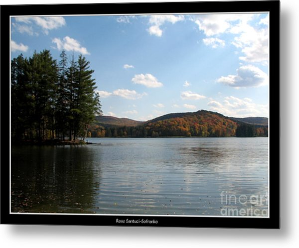 Metal Print featuring the photograph Red House Lake Allegany State Park Ny by Rose Santuci-Sofranko