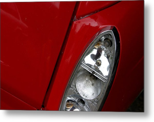 Red Light For Go Metal Print by Jez C Self
