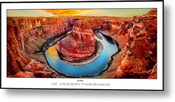 Red Planet Panorama Poster Print Metal Print