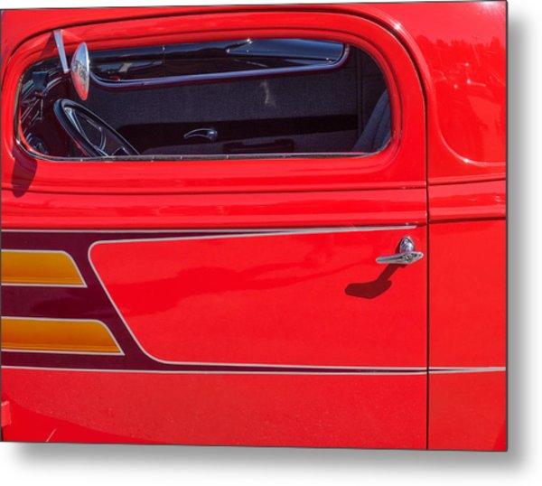 Red Racer Metal Print