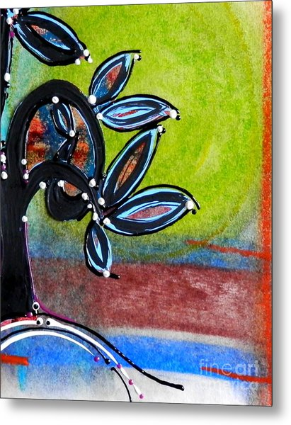 Red River Blossoms Metal Print