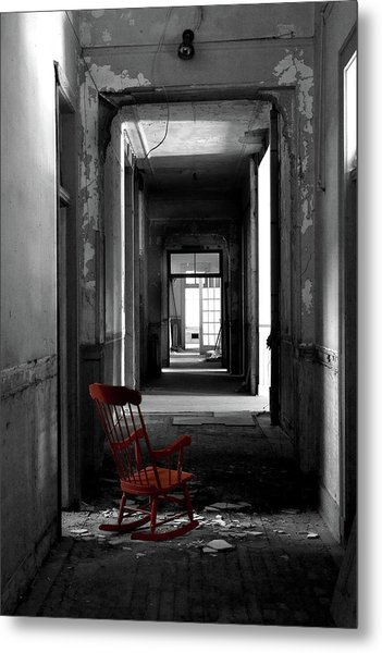 Red Rocker - Preston Castle Metal Print