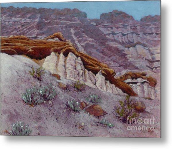Red Rocks - High Noon Metal Print
