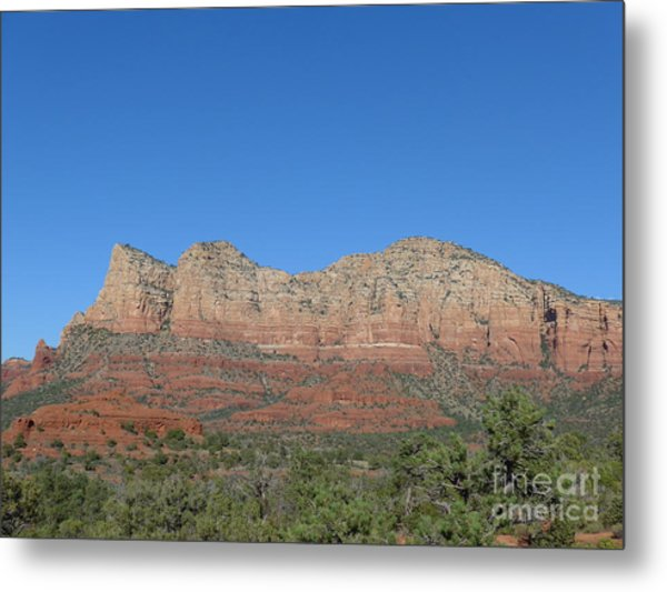 Red Rocks Majesty Metal Print
