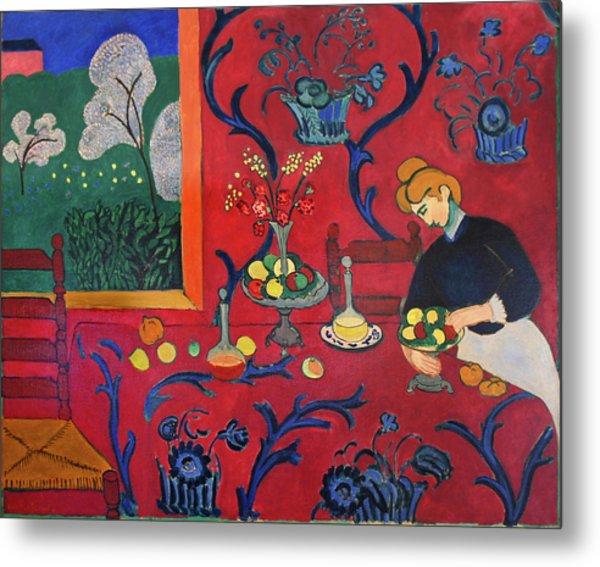 Red Room Metal Print by Henri Matisse