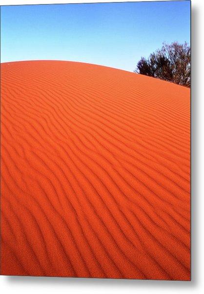 Red Sand Metal Print
