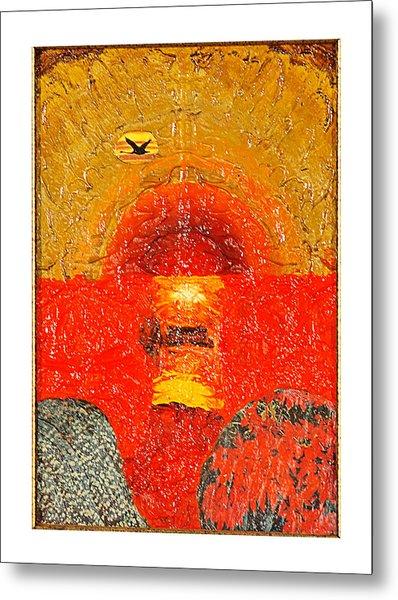 Red Sea Metal Print by Howard Goldberg