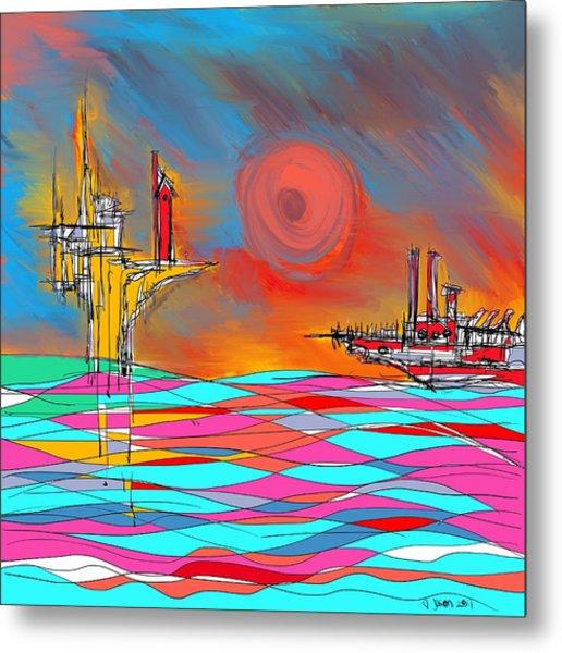 Red Sea Metal Print