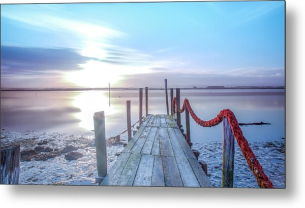 Metal Print featuring the photograph Red Vs Blue by Bruno Rosa