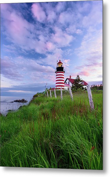 Red, White And Blue - Vertical Metal Print