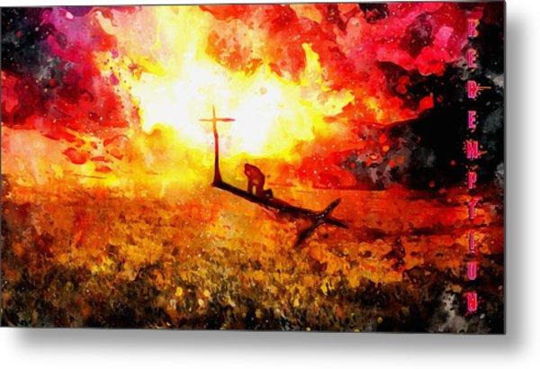 Redemption John Chapter 3 Metal Print