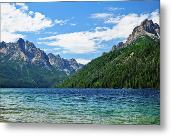 Redfish Lake Metal Print