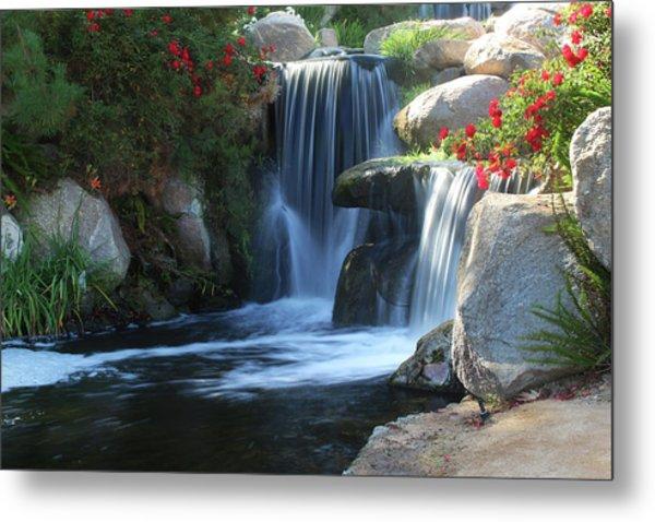 Redhawk Waterfall 5 Metal Print by Richard Stephen