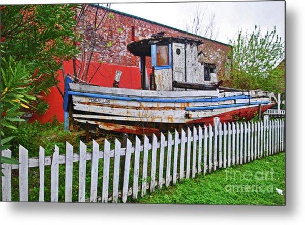 Redneck Dry Dock Metal Print