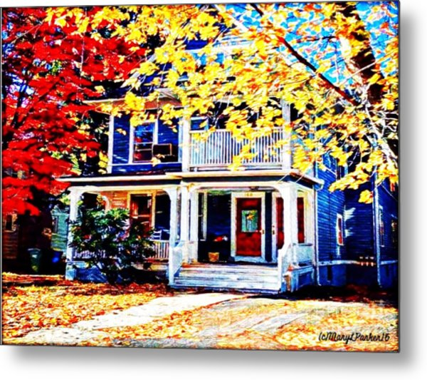 Reds And Yellows Metal Print