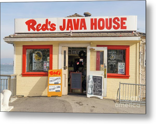 Reds Java House At San Francisco Embarcadero Dsc5759 Metal Print