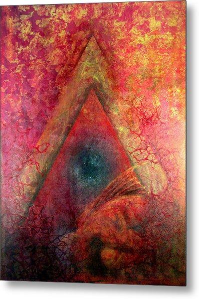 Redstargate Metal Print