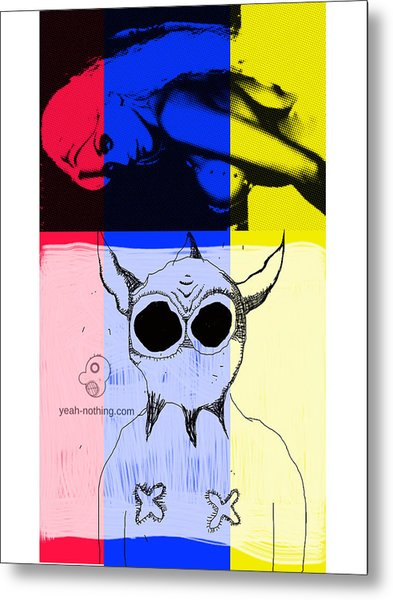 Red_yellow_blue Metal Print by Yeah Nothing