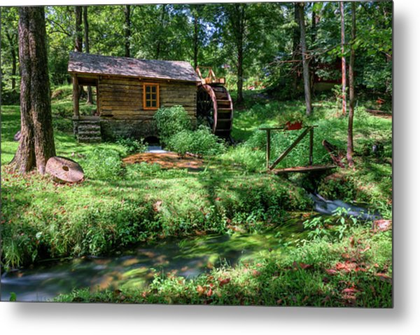Metal Print featuring the photograph Reed's Mill by John Gilbert