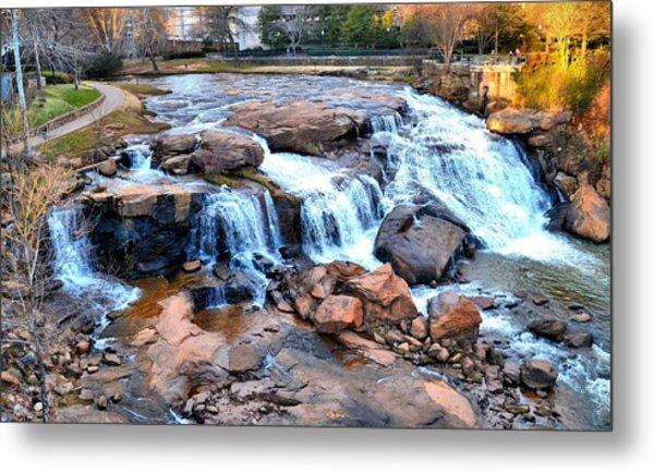 Reedy River Falls Metal Print