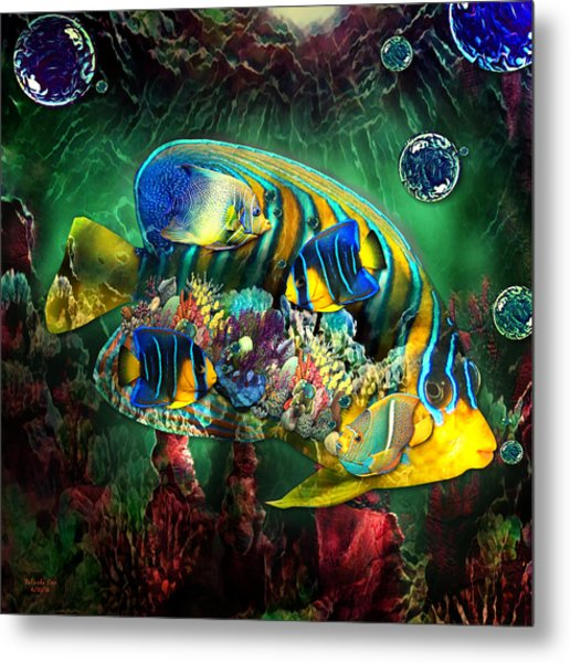 Reef Fish Fantasy Art Metal Print