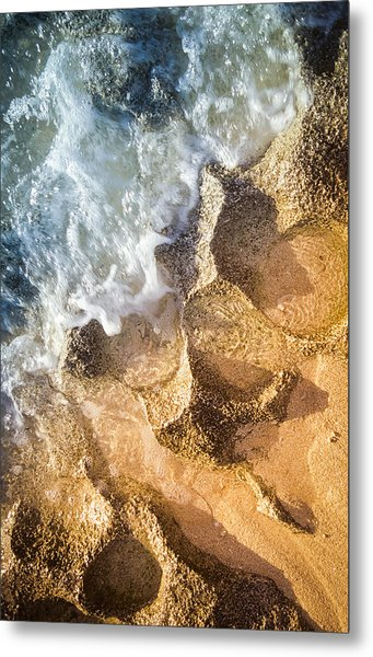 Metal Print featuring the photograph Reefy Textures by T Brian Jones
